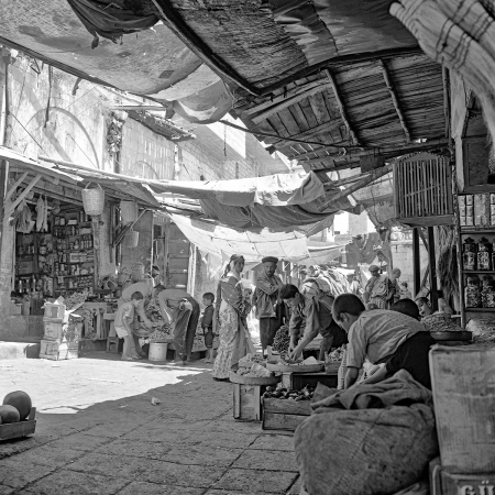 Marktszene in Mardin